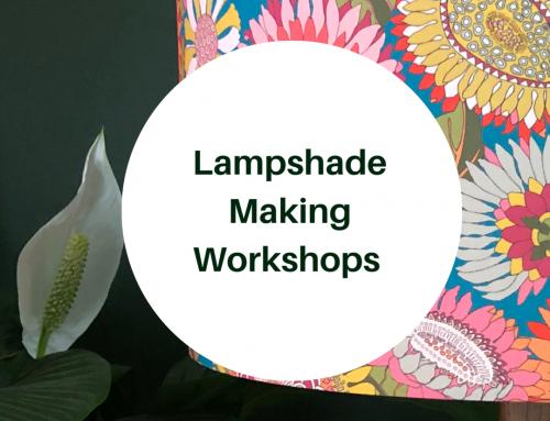 Lampshade Making Workshop 25.01.20